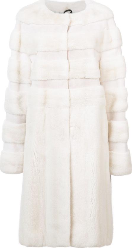 Oscar De La Renta Mid-length fur coat