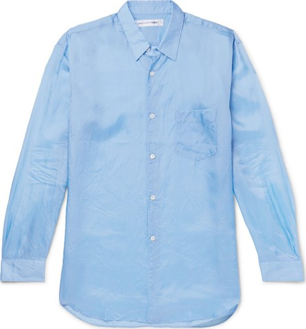 Comme Des Garcons Crinkled-Satin Shirt