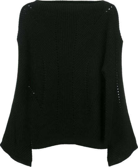 Nili Lotan Draped Sweater
