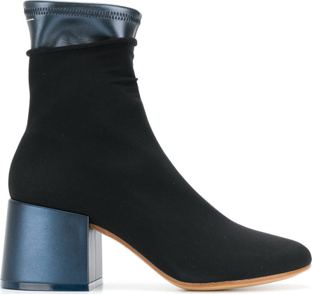 MM6 Maison Margiela Layered design ankle boots