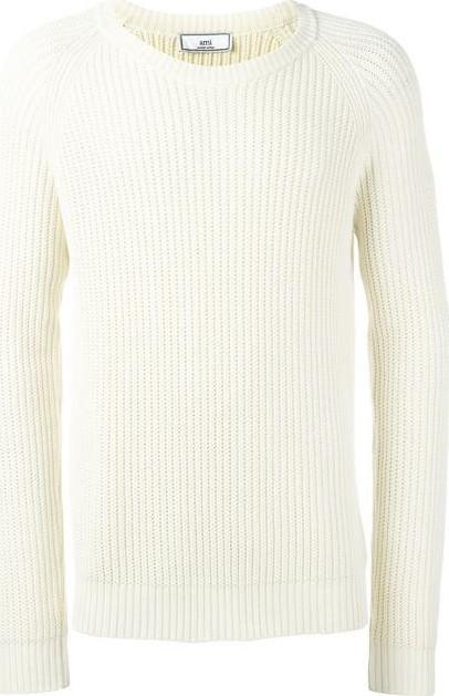 AMI raglan sleeve sweater