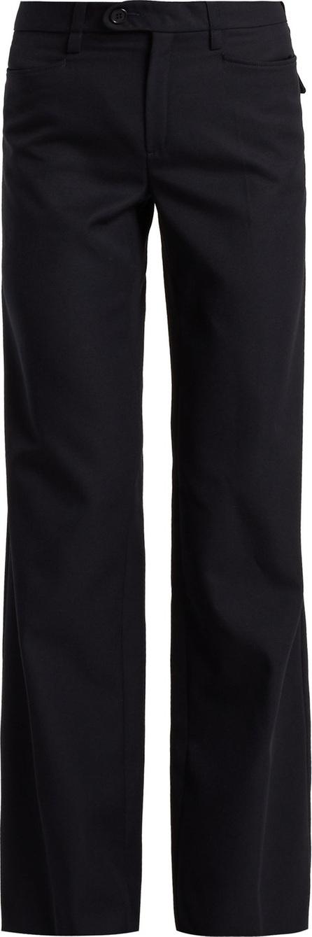 Chloe Serge high-rise wool-blend trousers