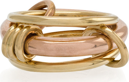 Spinelli Kilcollin 18kt yellow gold gemini ring
