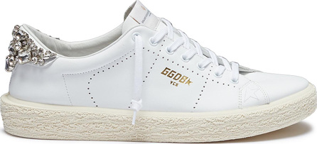 Golden Goose Deluxe Brand 'Tennis' strass leather sneakers