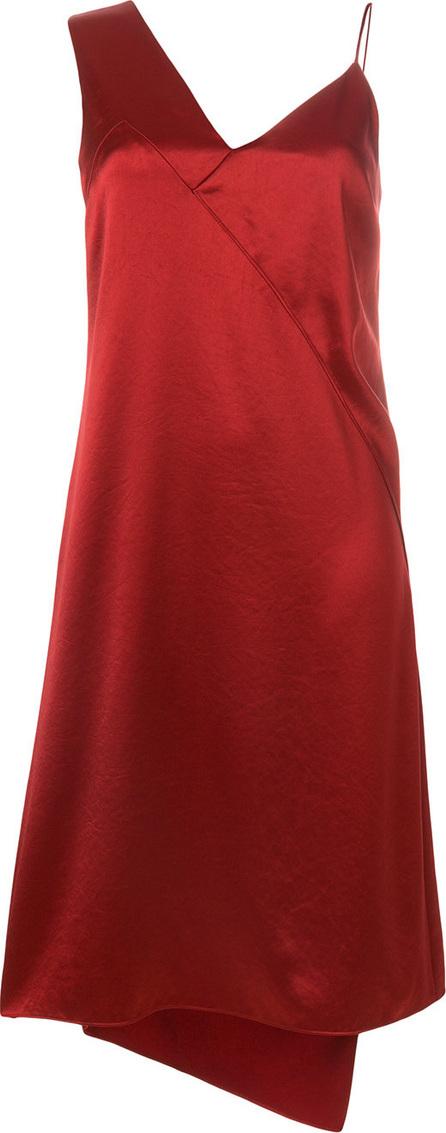 Cedric Charlier Asymmetric slip dress