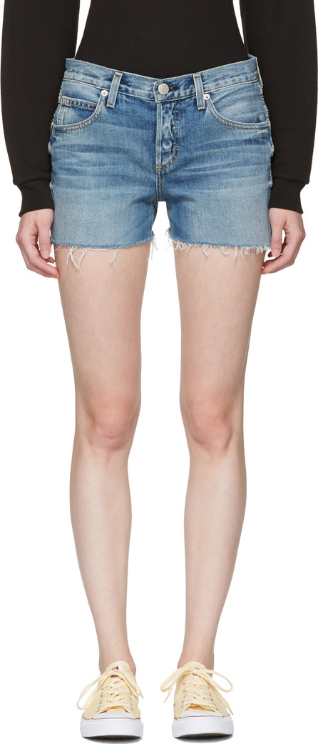 AMO Blue Denim Tomboy Shorts