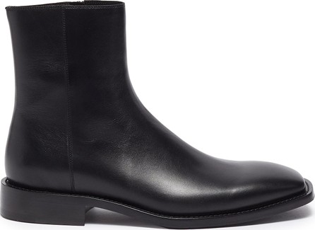 Balenciaga 'Rim' zip leather boots