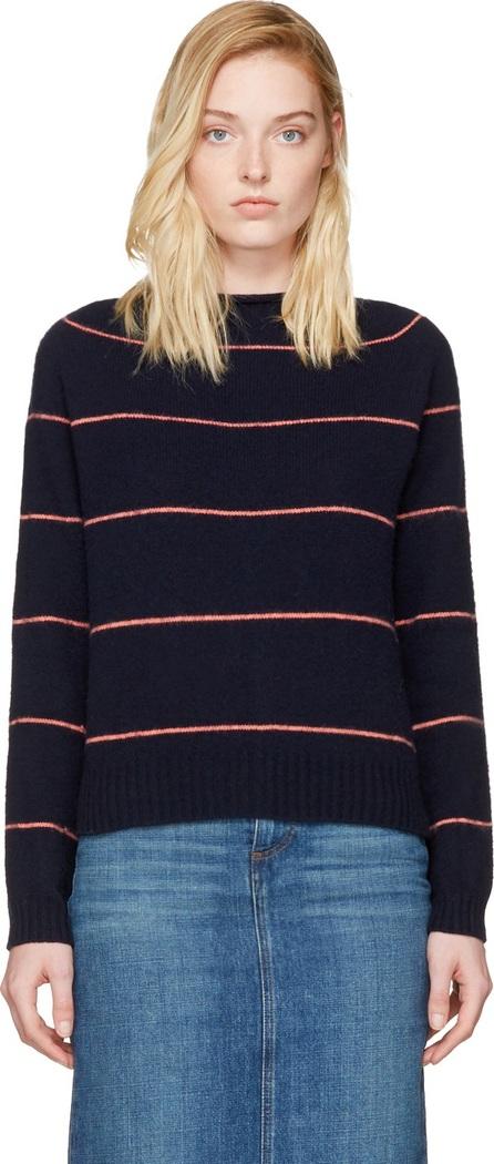Alexachung Navy Striped Sweater