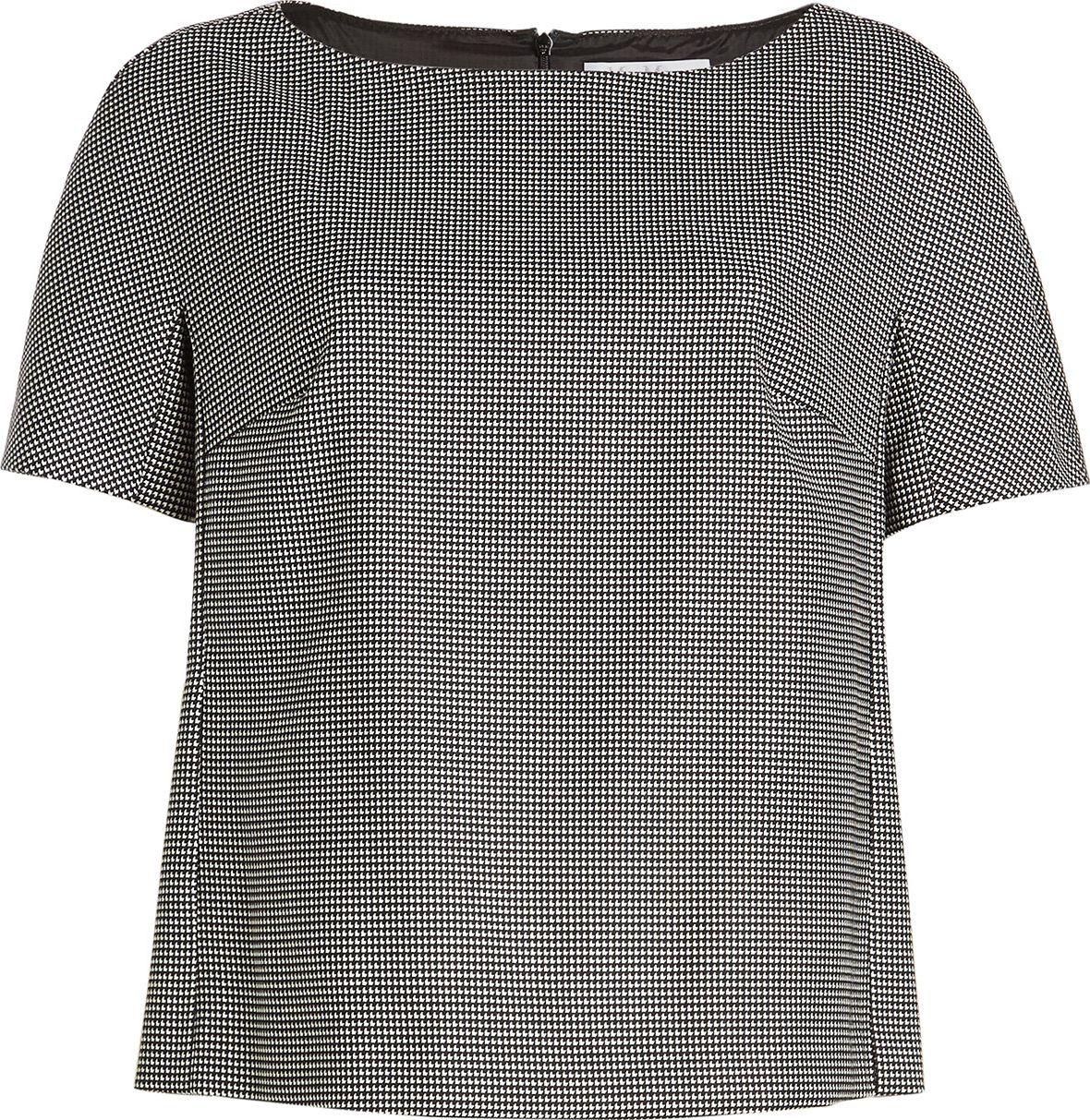 Max Mara - Printed Top with Wool
