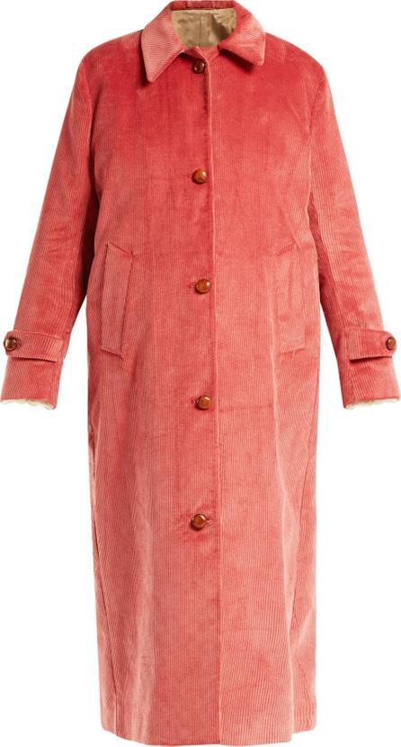 Giuliva Heritage Collection Maria cotton-corduroy coat