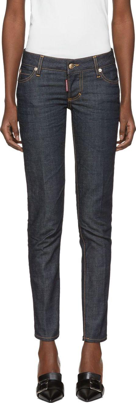 DSQUARED2 Indigo Jennifer Jeans