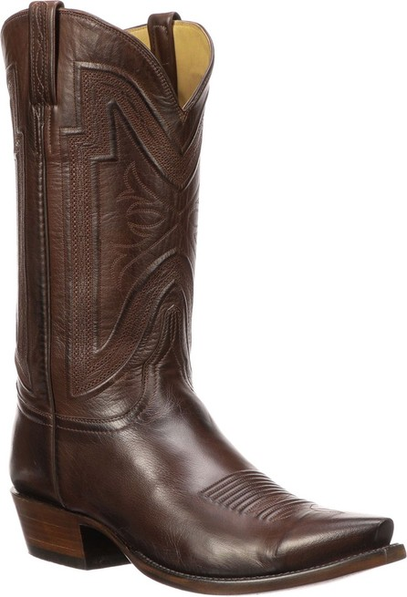 Lucchese Men's Collins Leather Cowboy Boots