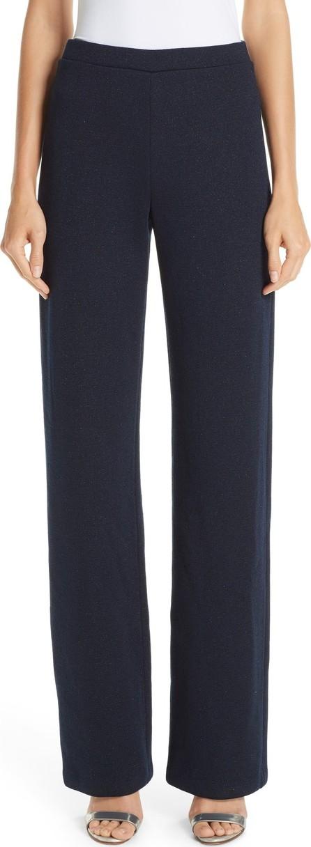 St. John Mod Metallic Knit Pants