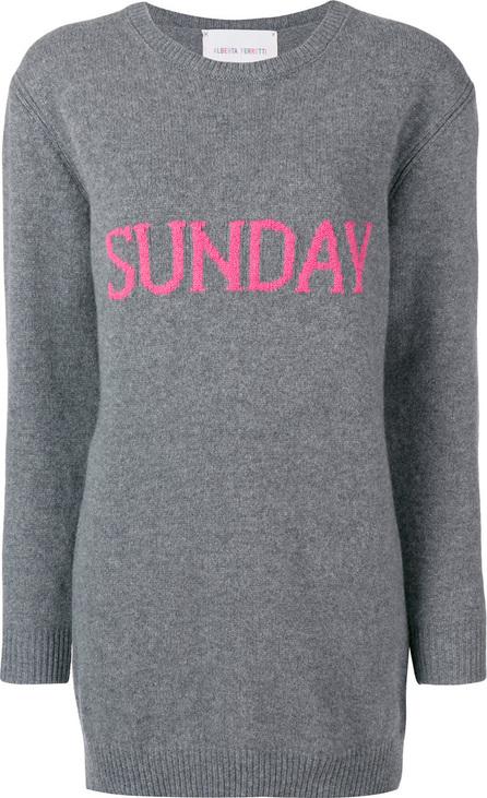 Alberta Ferretti Sunday sweater dress