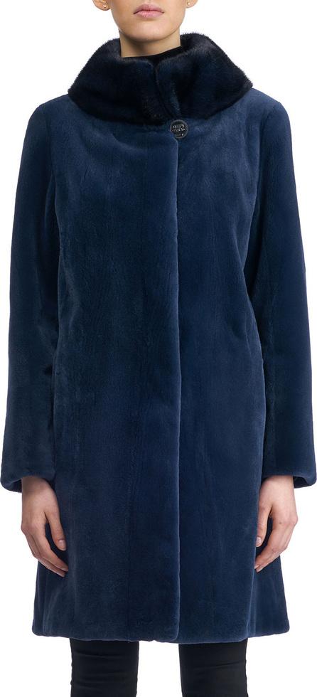 Gorski Sheared Mink Stroller Coat