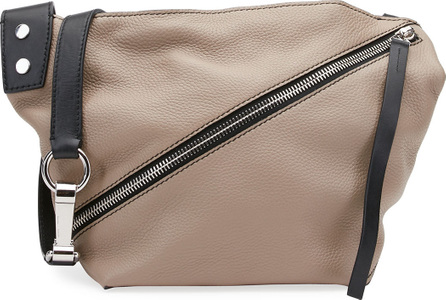 Proenza Schouler Small Grain Leather Zip Hobo Bag