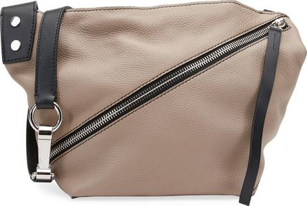 Proenza Schouler Small Grain Leather Zip Hobo Bag