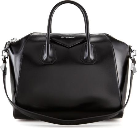 Givenchy Antigona Medium Box Calf Leather Satchel Bag
