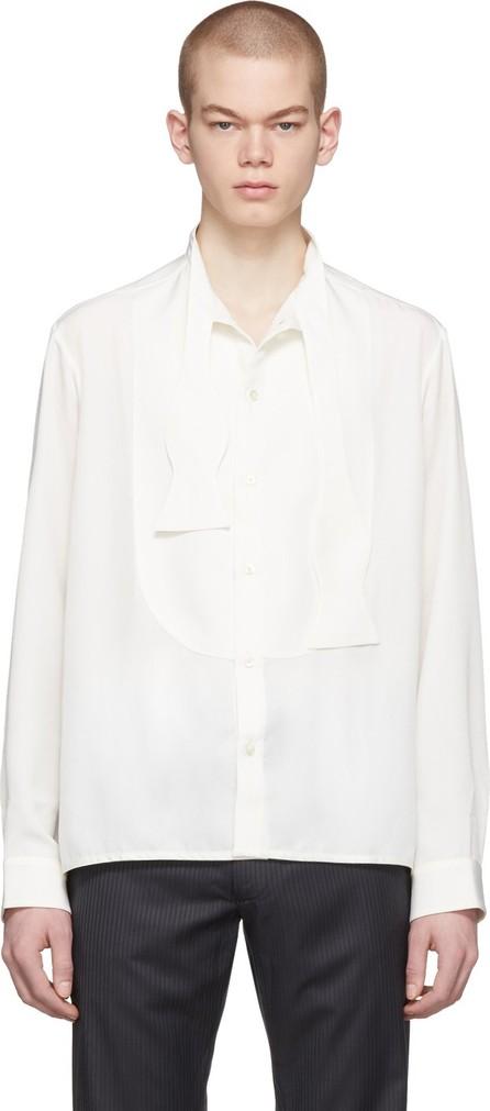Daniel W. Fletcher Off-White Bow Tie Shirt