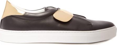 Rupert Sanderson Dynamo slip-on leather trainers