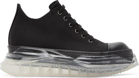 Rick Owens DRKSHDW Black Abstract Sneakers
