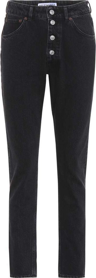 Balenciaga High-waisted jeans