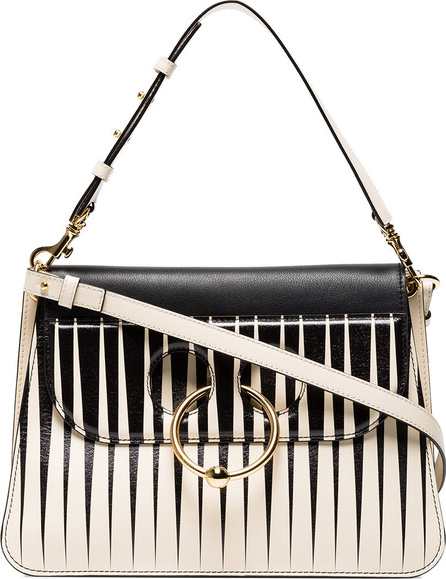 J.W.Anderson Medium striped Pierce shoulder bag