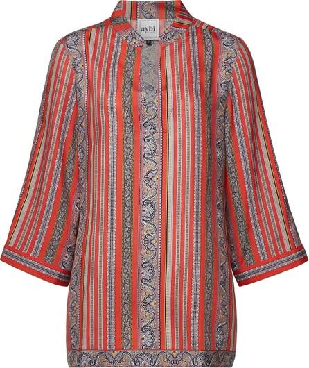 Aybi Bonny Printed Silk Blouse
