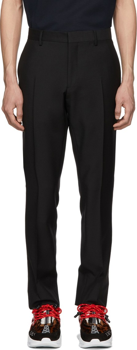Burberry London England Black Mohair Marylebone Trousers