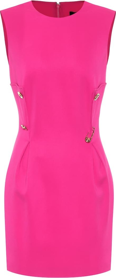 Versace Embellished minidress