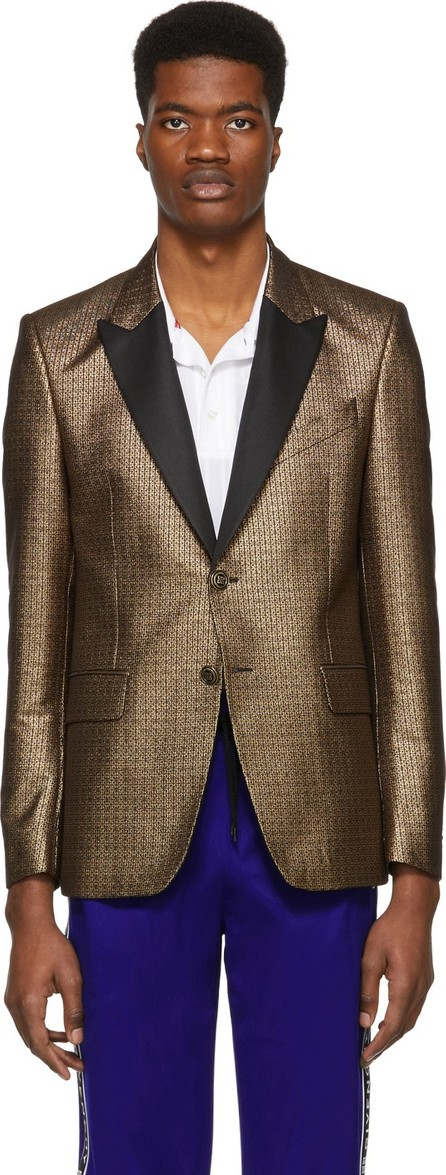 Givenchy Gold & Black 4G Blazer