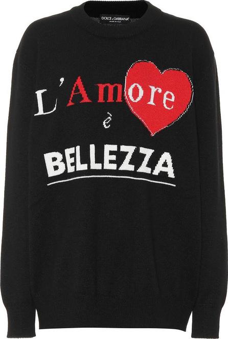 Dolce & Gabbana L'amore è Bellezza cashmere sweater