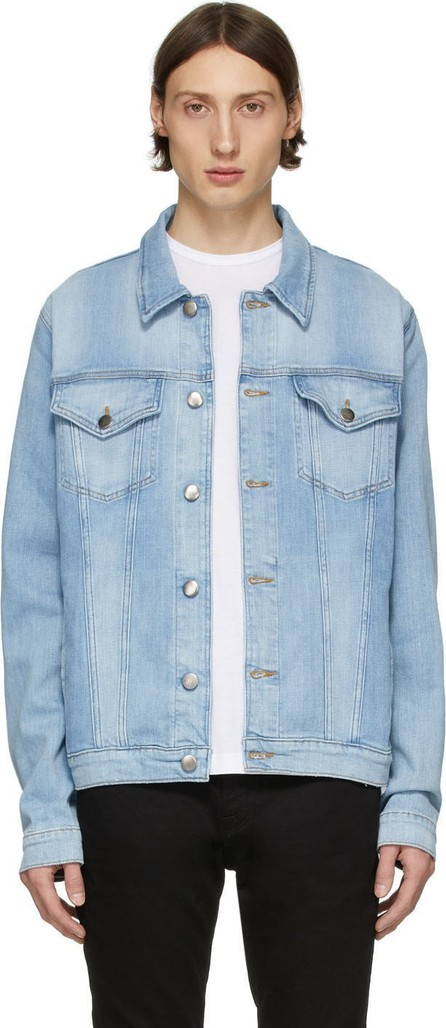 FRAME DENIM Blue Denim L'Homme Jacket