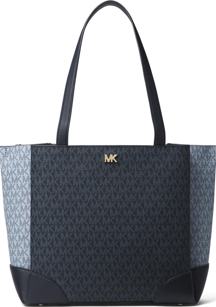 MICHAEL MICHAEL KORS - Gala Medium Colorblock Logo Shoulder Tote Bag