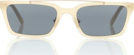 Self Portrait Lia rectangular sunglasses