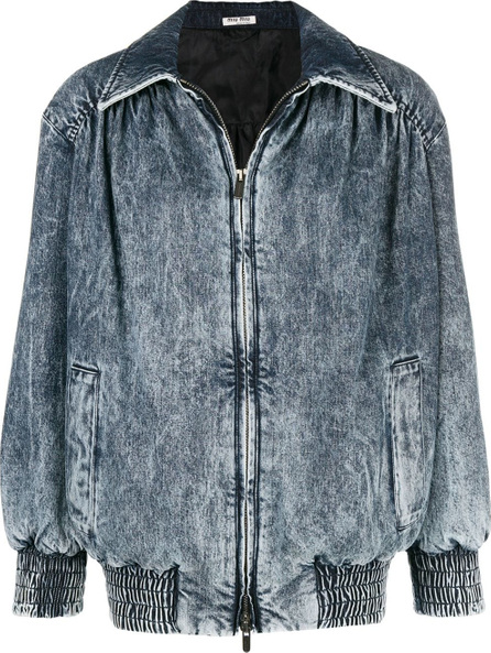 Miu Miu Stained denim jacket
