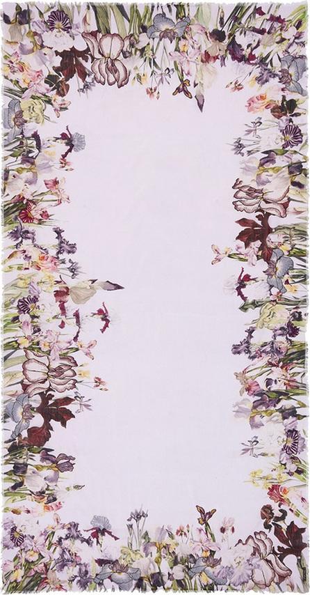 Faliero Sarti 'Fioraia' floral print cotton blend scarf