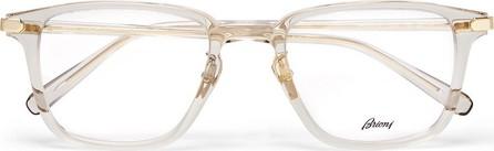Brioni Square-Frame Acetate Optical Glasses