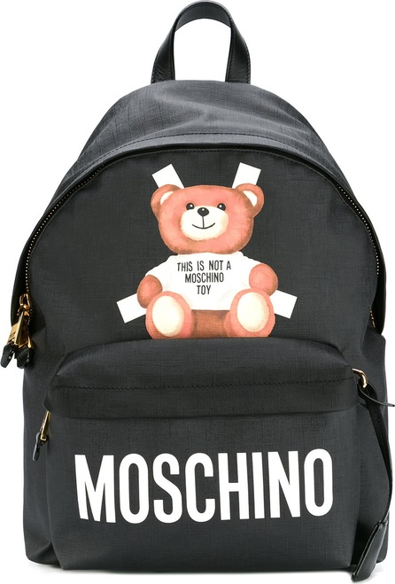 Moschino teddy bear paper cut out backpack