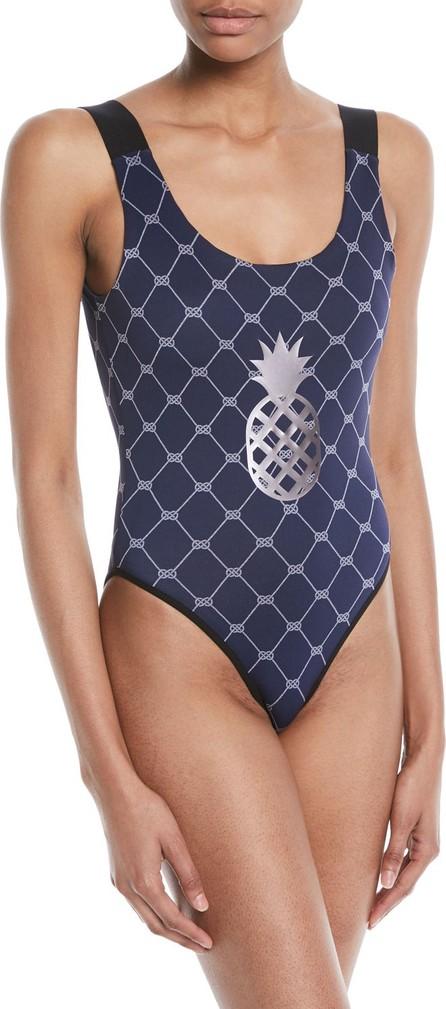 9186f905ce ULTRACOR Domain Sailor Pineapple High-Leg One-Piece Swimsuit