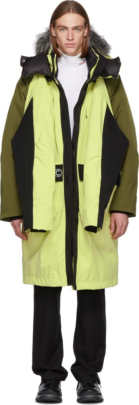 Colmar A.G.E. By Shayne Oliver Reversible Yellow Down Shayne Coat