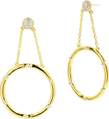 Freida Rothman Radiance Large Drop Earrings