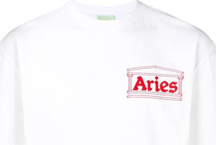 Aries Logo crewneck T-shirt