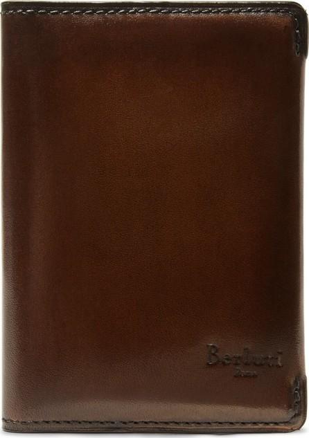 Berluti Ideal Leather Bifold Cardholder