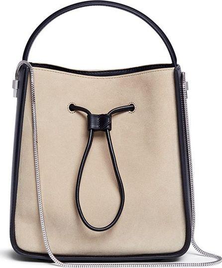 3.1 Phillip Lim 'Soleil' small colourblock leather drawstring bucket bag