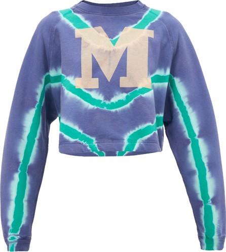 M Missoni M-logo tie-dyed cotton sweatshirt