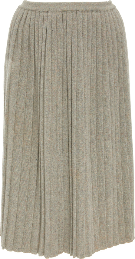 Alena Akhmadullina Pleated Cashmere Skirt