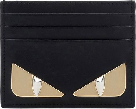 Fendi Shiny Monster Calf Leather Liberty Card Case