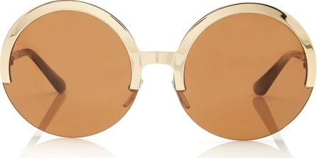 Marni Full Moon Metal Round-Frame Sunglasses