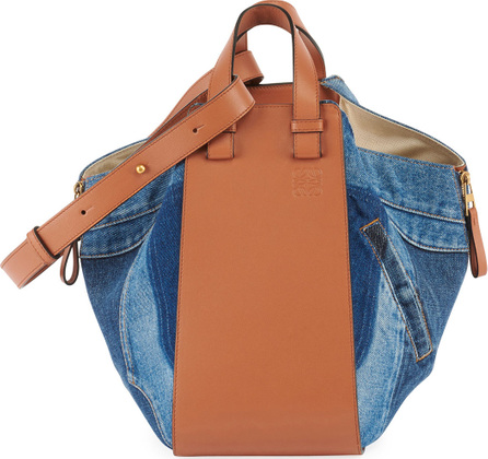 LOEWE Hammock Denim Small Satchel Bag